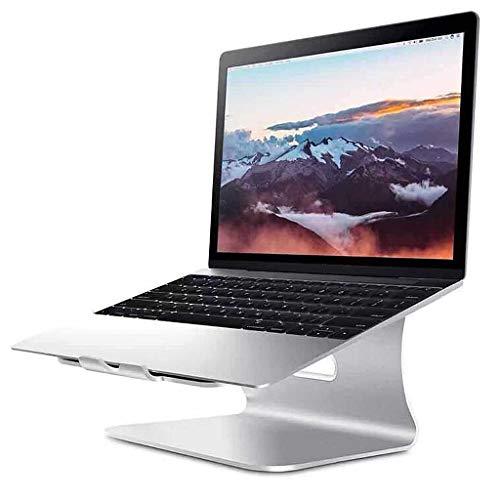 Supporti per notebook Supporto Per Laptop Universale in Alluminio, Supporto Per Notebook Con Raffreddamento Per Ventilazione Desktop Compatibile Con La Maggior Parte Dei Laptop Da 10-17 Pollici, Table