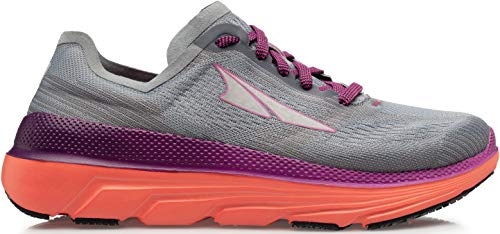 ALTRA Women's ALW1938F Duo 1.5 Road Running Shoe, Gray/Coral - 8.5 M US