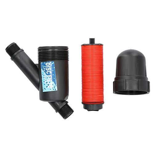 """Filtro de riego por goteo de 3/4"""", filtro de agua, filtro de 120 PSI, 130 micrones, filtro de disco de nivel, filtro, tanque de agua de riego por goteo, bomba de piscina para jardín, césped, invernad"""
