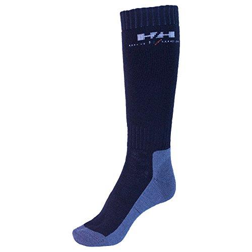 Helly Hansen Workwear 2 Paar Arbeitssocken Lahti Extreme, robuste Socken für Handwerker, Industrie Gr. 40 - 43, schwarz, 75735