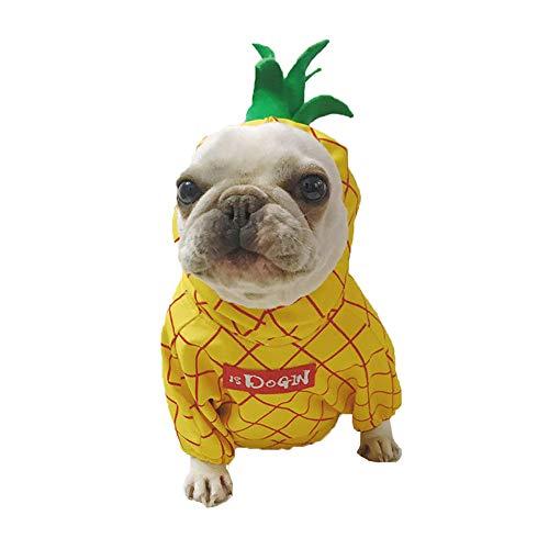 Amakunft Disfraz de piña para Mascotas, Halloween, Fruta, Perro ...