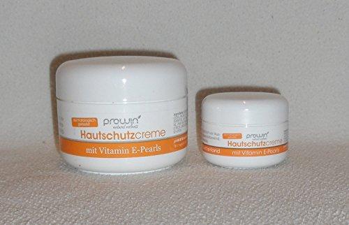 Prowin Hautschutzcreme mit Vitamin E-Pearls 20 ml + 100 ml