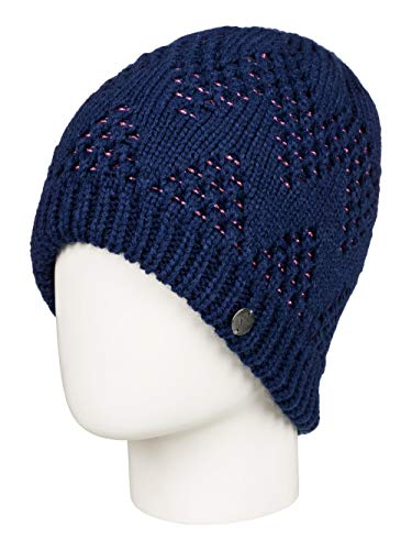 Roxy Damen Mütze Glacialis - Mütze, Medieval Blue, 1SZ, ERJHA03558