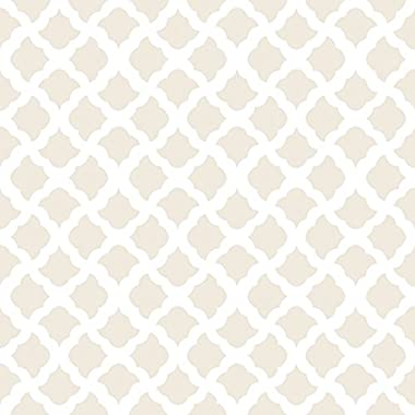 Con-Tact Creative Covering Self-Adhesive Vinyl Shelf and Drawer Liner, 18  x 20', Talisman Pale Gray