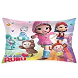 CoDape Rainbow Ruby Cartoon Decorative Pillow Cover Bedroom Pillow Cover 20 X 30 inches, Cushion Cover for Sofa, Sofa and Bed