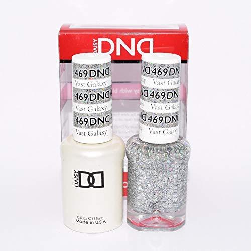 DNDDuo Gel (Gel & Matching Polish ) Glitter Set 469 - Vast Galaxy