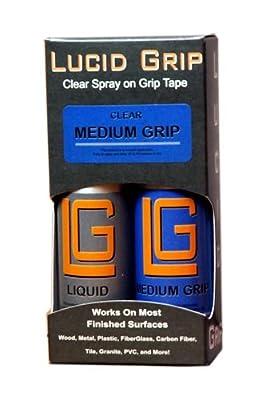 Lucid Grip Clear Spray on Tape, Medium
