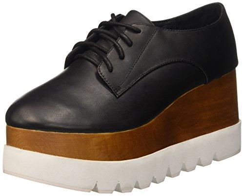 Jeffrey Campbell JCSJD0209LEA, Scarpe Con Piattaforma Donna, Nero (Leather Black), 40 EU
