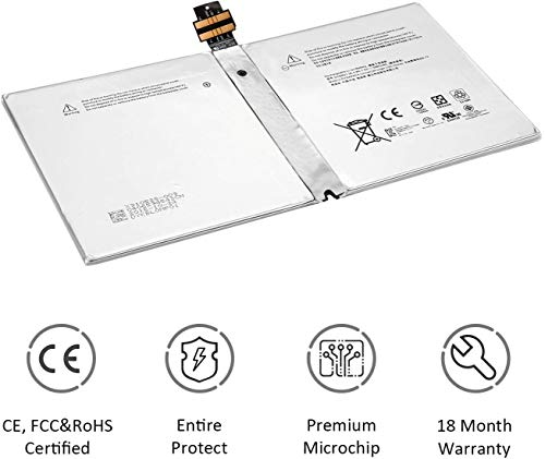 ANTIEE G3HTA027H DYNR01 38.2Wh Battery for Microsoft Surface Pro 4 1724 Series
