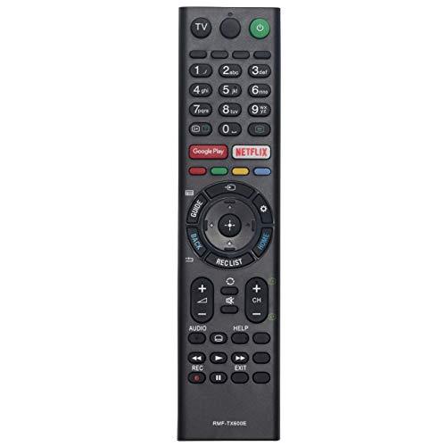 VINABTY RMF-TX600E Mando a Distancia para Sony 4Κ HD TV 55X950G 55X955G 55X957G 65X850G 65X950G 65X955G 75X950G 75X955G...