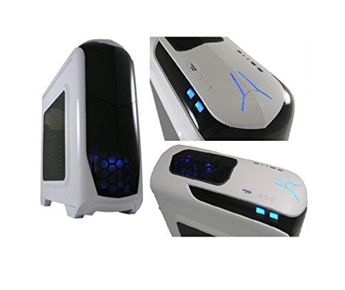 PC DESKTOP GAMING CPU TURBO 4.4GHz AMD QUAD CORE A10 6800K VGA GTX750 ULTRA VELOCE RAM 16GB CASE ATX BIANCO 2 VENTOLE RAFFREDDAMENTO LED BLU ALIMENTATORE 750W LETTORE CARD READER Gamer Gaming PC Multimedia QUAD CORE AMD A10 6800K 4.4 GHZ ULTRA VELOCE RAM 16GB 1600 MHZ/HD 1TB SATA III SCHEDA VIDEO DEDICATA GTX750 2GB USCITE HDMI,VGA,DVI, USB 2.0 3.0 VIDEO IN 4K LC-POWER 976W