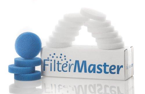 Filtermaster Aquarium-Wasserfilter BigPack Set 12   Filter für EHEIM    Filterring & Filtervlies   Filtermatten