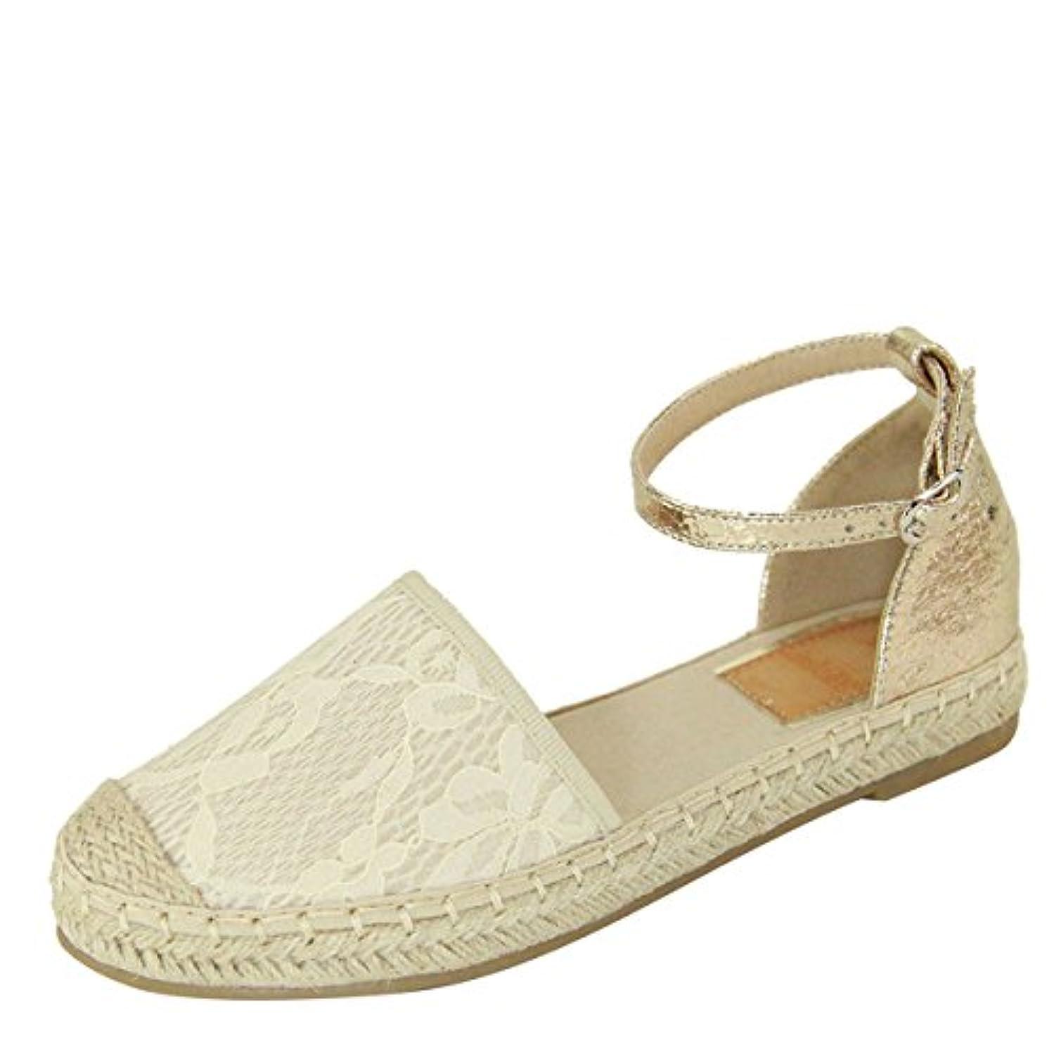 Womens Closed Toe Ankle Strap Espadrille Low Flat Platform Wedge Heel Sandal Slides Shoe