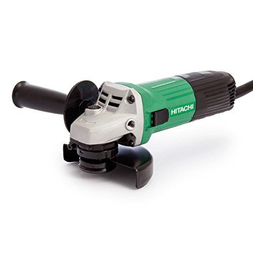 Hitachi G12STX-240V Angle Grinder 115mm 600W 240V, 240 V, Green/White