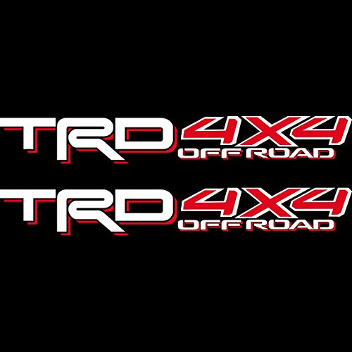 Toyota TRD 4x4 Off Road Compatible with Toyota Tacoma Tundra Sticker Decal 05