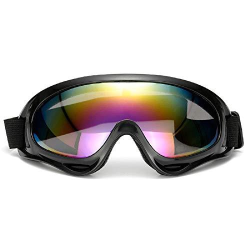 TaiRi Occhiali da sci, Occhiali antiappannamento, Occhiali da snowboard con protezione UV Occhiali da sole ciclismo antipolvere UV400 per uomo e donna