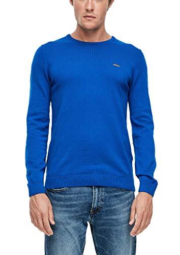 s.Oliver Herren 130.11.899.17.170.2040664 Pullover, Blau(5537) L