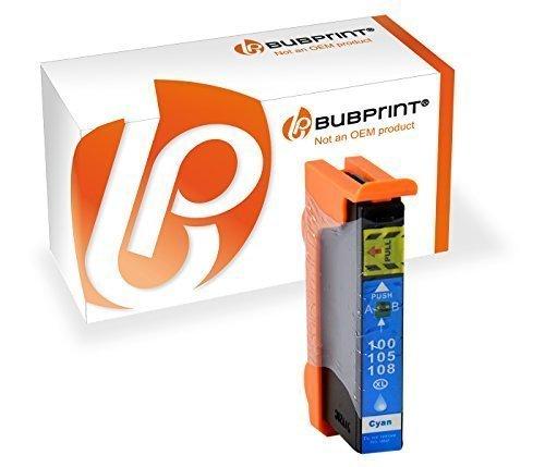 Bubprint Druckerpatrone kompatibel für Lexmark 100XL für Interact S605 Interpret S405 S505 Pinnacle Pro 901 Platinum Pro 905 Prestige Pro 805 Cyan