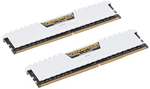 Corsair Vengeance LPX 16GB (2x8GB) 3000MHz C16 DDR4 DRAM Memory Kit - White