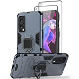 Jusy Oneplus Nord 2 5G Case, Shockproof Nord 2 Case & 2