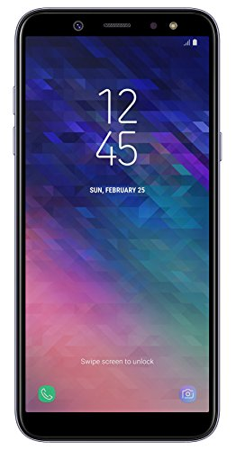Samsung Galaxy A6 (2018) Smartphone, 32 GB Espandibili, Dual SIM, Lavender (Viola), [Versione Tedesca]