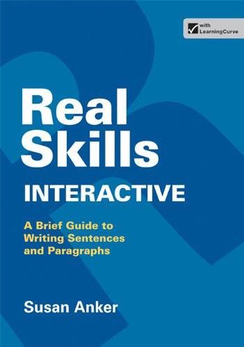 Real Skills Interactive: A Brief Guide to Writing Sentences and Paragraphs