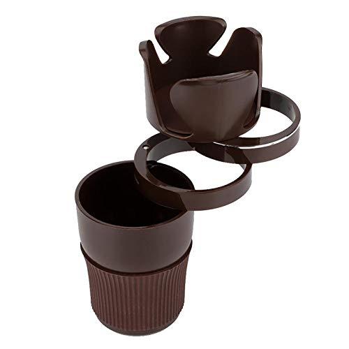 Portavasos para bebidas a estrenar Can Holder Rack para coche(Brown)