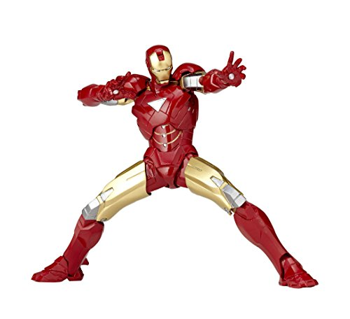 [Amazon.co.jp Limited】 Yamaguchi Libor micro mini Iron Man Mark 6 rm-003 (ABS & PVC Finir de peinture/Action Figure/Avec un autocollant original)
