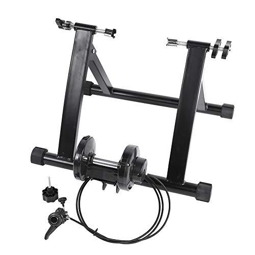AYNEFY Entrenador de Bicicleta, Indoor Trainer Bicicleta Plataforma de Entrenamiento Rodillo de Bicicleta para Entrenamiento de Ciclismo en Casa