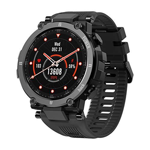 Nuevo Reloj Inteligente Pulsera Deportiva a Prueba de Agua para Kospet Raptor Bluetooth 4.0 Anti-Collision Shock Absorción Smart Watch,A