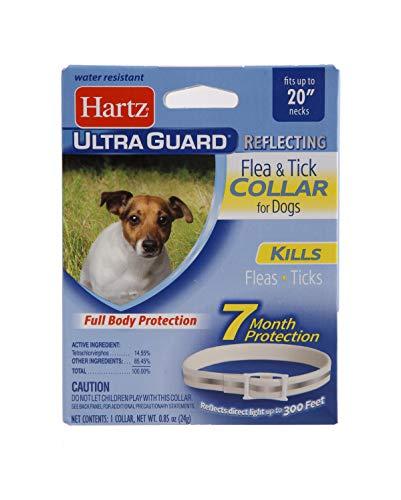 Hartz UltraGuard Flea & Tick Collar for Dogs and Puppies, 7 Month Flea...