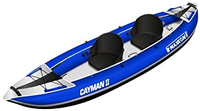 CAYMAN-1205 Maxxon 12ft 5in 2 Person Inflatable Kayak