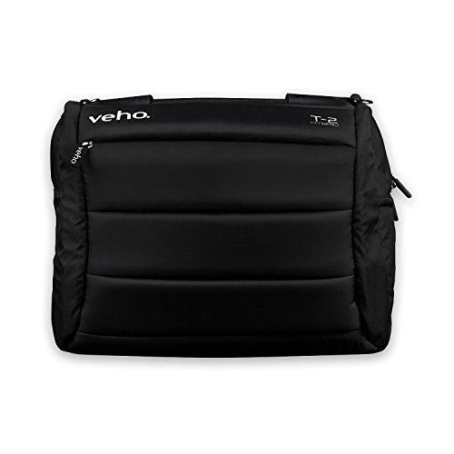 Veho VNB-001-T2 17-Inch Laptop Bag - Black with Shoulder Strap