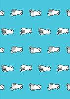 igsticker ポスター ウォールステッカー シール式ステッカー 飾り 297×420㎜ A3 写真 フォト 壁 インテリア おしゃれ 剥がせる wall sticker poster 016443 犬 イラスト 動物
