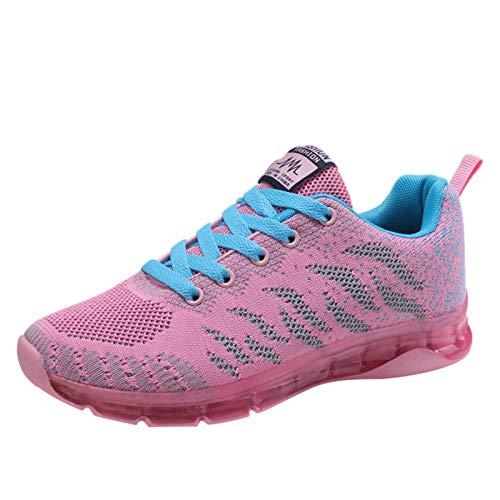 Zapatos de Running para Mujer Casual Zapatillas Deportivo Respirable Correr Runing Caminar utdoor Calzado Asfalto Sneakers 1228