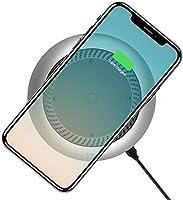 Baseus Whirwind Masaüstü Fanlı Kablosuz Şarj Cihazı, Gümüş Rengi- CCALL-XU0S