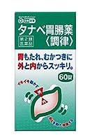 【第2類医薬品】タナベ胃腸薬<調律> 60錠 ※セルフメディケーション税制対象商品