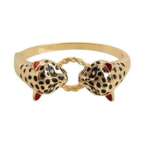 Betsey Johnson Leopard Bangle Bracelet