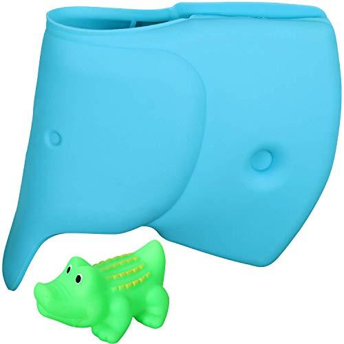 Robinet de baignoire pour bébé - Baignoire bébé - Couvercle de robinet éléphant Baignoire bébé Safe Couvercle de bec de bain Enfants Bébé Enfant Pet Cuisine de bain pour tout-petits - Crocodile Gift