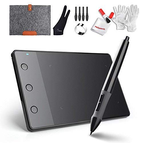 HUION H420 - Kit de Tableta de Dibujo gráfico por USB