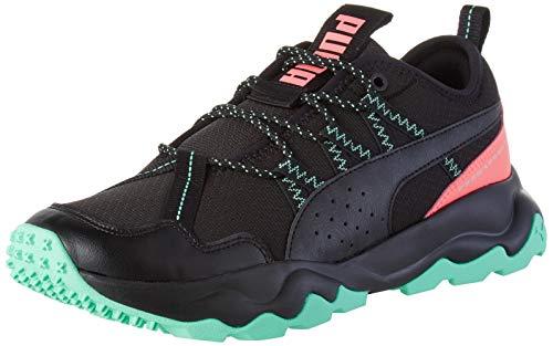 PUMA Ember TRL WN'S, Zapatillas de Running para Mujer, Negro Black/Ignite Pink/Green Glimmer 04, 42 EU