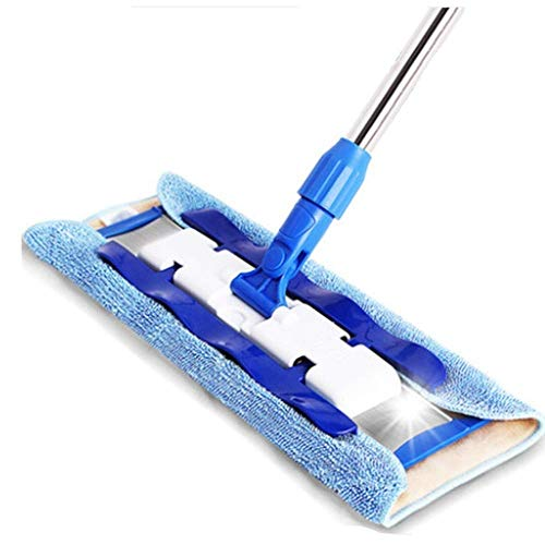 Best Buy! Mop,Cleaner Wooden Laminate Tile Wet Dry Extendable Microfibre Floor Mop