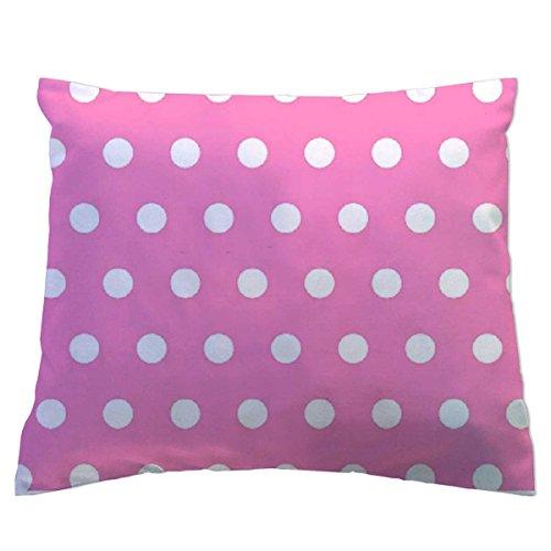 SheetWorld Crib Toddler Hypoallergenic Pillow Case - Polka Dots P