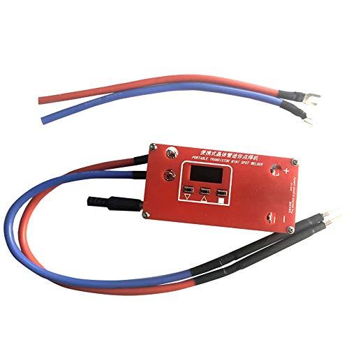 KKmoon Mini Schweißgerät Tragbare Transistor Punktschweißmaschine Automatische manuelle Schweißung einstellbar