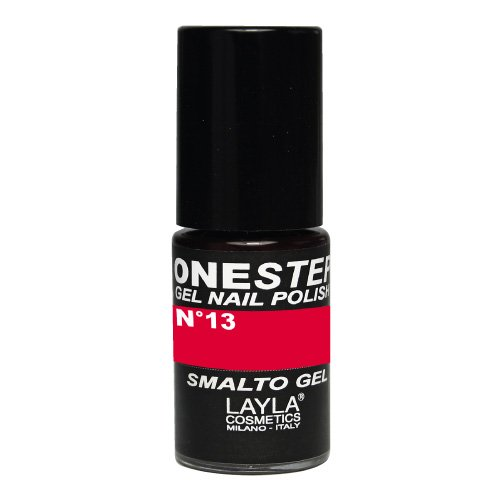One Step Gel Nail Polish Tonalità 13 Black Cherry