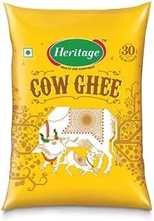 Heritage Golden Cow Ghee Pouch, 1000 ml