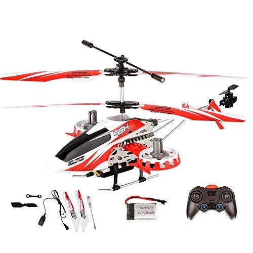 Knmbmg Aviones de control remoto Helicóptero Resistencia a la carga Carga Niño niña Niños Juguete anticolisión Sacudida Navegación aérea Modelo Pequeño helicóptero no tripulado Avión de control remoto