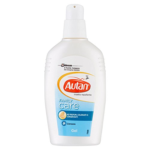 Autan Family Care Gel Repellente - 100 ml - [pacco da 3]