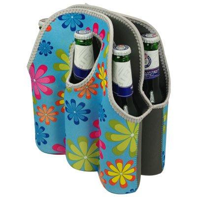 KESPER-rafraîchisseur de bouteille-top glacière dOSENKÜHLER fleurs pour 6 bouteilles