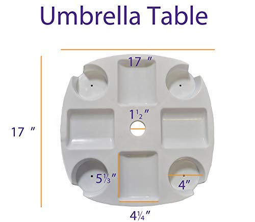 Impact Canopy Umbrella Table Accessory
